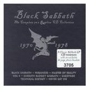 BLACK SABBATH - The Complete 70's Replica Cd Collection 1970-1978 (boxset) CD album cover