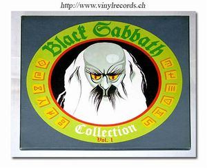 BLACK SABBATH - Collection Vol.1 CD album cover