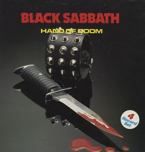 BLACK SABBATH - Hand Of Doom CD album cover