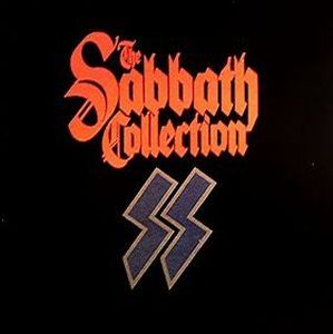 Black Sabbath - The Sabbath Collection (original) CD (album) cover