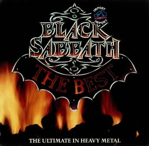 BLACK SABBATH - The Best: The Ultimate In Heavy Metal CD album cover