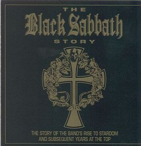 BLACK SABBATH - The Black Sabbath Story CD album cover
