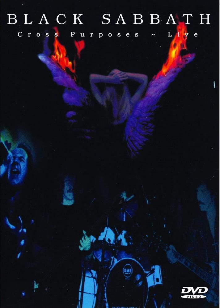 Black Sabbath - Cross Purposes Live DVD (album) cover