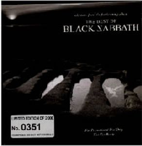 BLACK SABBATH - The Best Of Black Sabbath CD album cover
