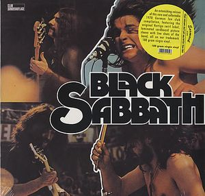 BLACK SABBATH - Black Sabbath CD album cover