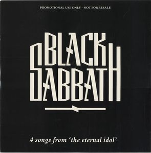 BLACK SABBATH - 4 Songs From The Eternal Idol CD album cover
