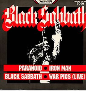 BLACK SABBATH - Paranoid CD album cover