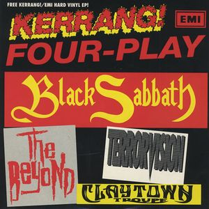 BLACK SABBATH - Kerrang! Four-play CD album cover