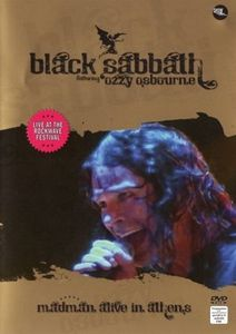 Black Sabbath - Madman Alive In Athens DVD (album) cover