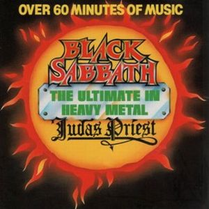 Black Sabbath - The Ultimate In Heavy Metal CD (album) cover
