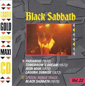 Black Sabbath - Castle Gold Collection: Volume 22 CD (album) cover