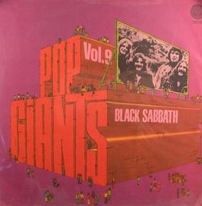 Black Sabbath - Pop Giants: Volume 9 CD (album) cover