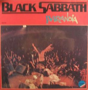 Black Sabbath - Paranoia CD (album) cover