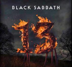 BLACK SABBATH - 13 CD album cover