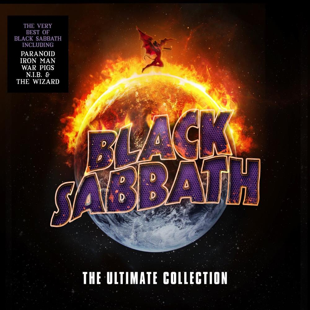 Black Sabbath - The Ultimate Collection CD (album) cover