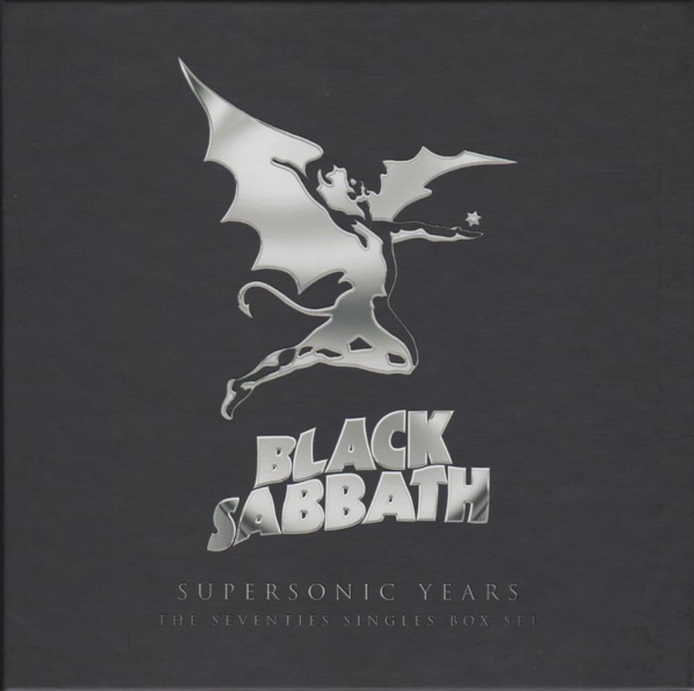 Black Sabbath - Supersonic Years: The Seventies Singles Box Set CD (album) cover