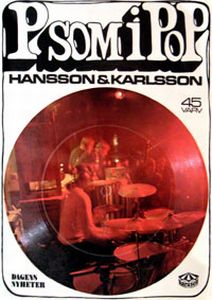 Hansson & Karlsson - P Som I Pop CD (album) cover
