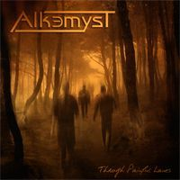 Alkemyst - Through Painful Lanes CD (album) cover