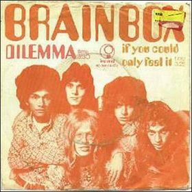 BRAINBOX - Dilemma / If You Could Only Feel It CD album cover