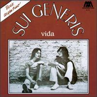 Sui Generis - Vida CD (album) cover