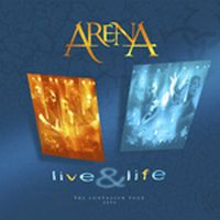 Arena - Live & Life CD (album) cover