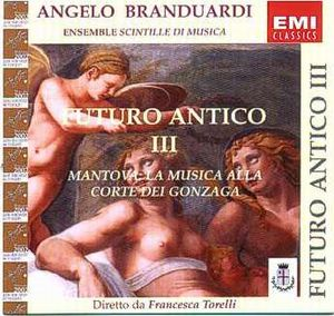 Angelo Branduardi - Futuro Antigo Iii CD (album) cover