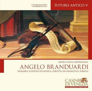 Angelo Branduardi - Futuro Antigo V CD (album) cover