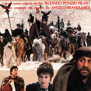 Angelo Branduardi - Secondo Ponzio Pilato (soundtrack) CD (album) cover