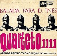 Quarteto 1111 - Balada Para D. Inês CD (album) cover