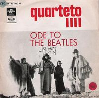 Quarteto 1111 - Ode To The Beatles CD (album) cover