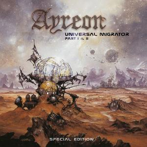 Ayreon - Universal Migrator Part I & Ii CD (album) cover