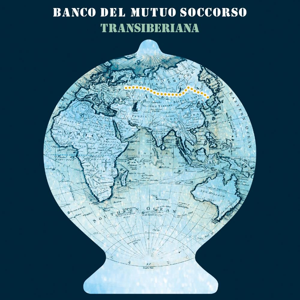 Banco Del Mutuo Soccorso - Transiberiana CD (album) cover