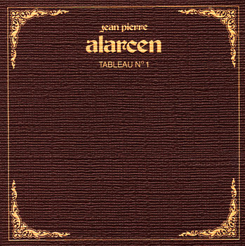 Jean-pierre Alarcen - Tableau No. 1 CD (album) cover