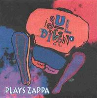 Sul Divano - Plays Zappa CD (album) cover