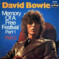 David Bowie - Memory Of A Free Festival CD (album) cover