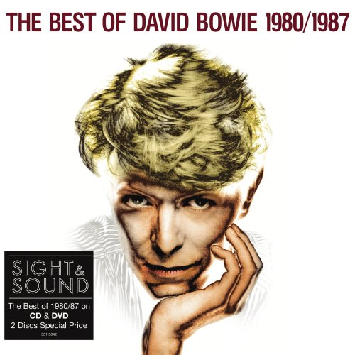 DAVID BOWIE - The Best Of David Bowie 1980/1987 (cd + Dvd) CD album cover