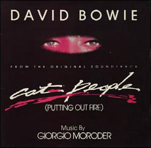 David Bowie - Cat People (putting Out Fire) CD (album) cover