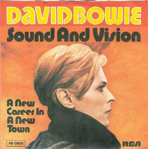 David Bowie - Sound And Vision / A New Career In A New Town CD (album) cover