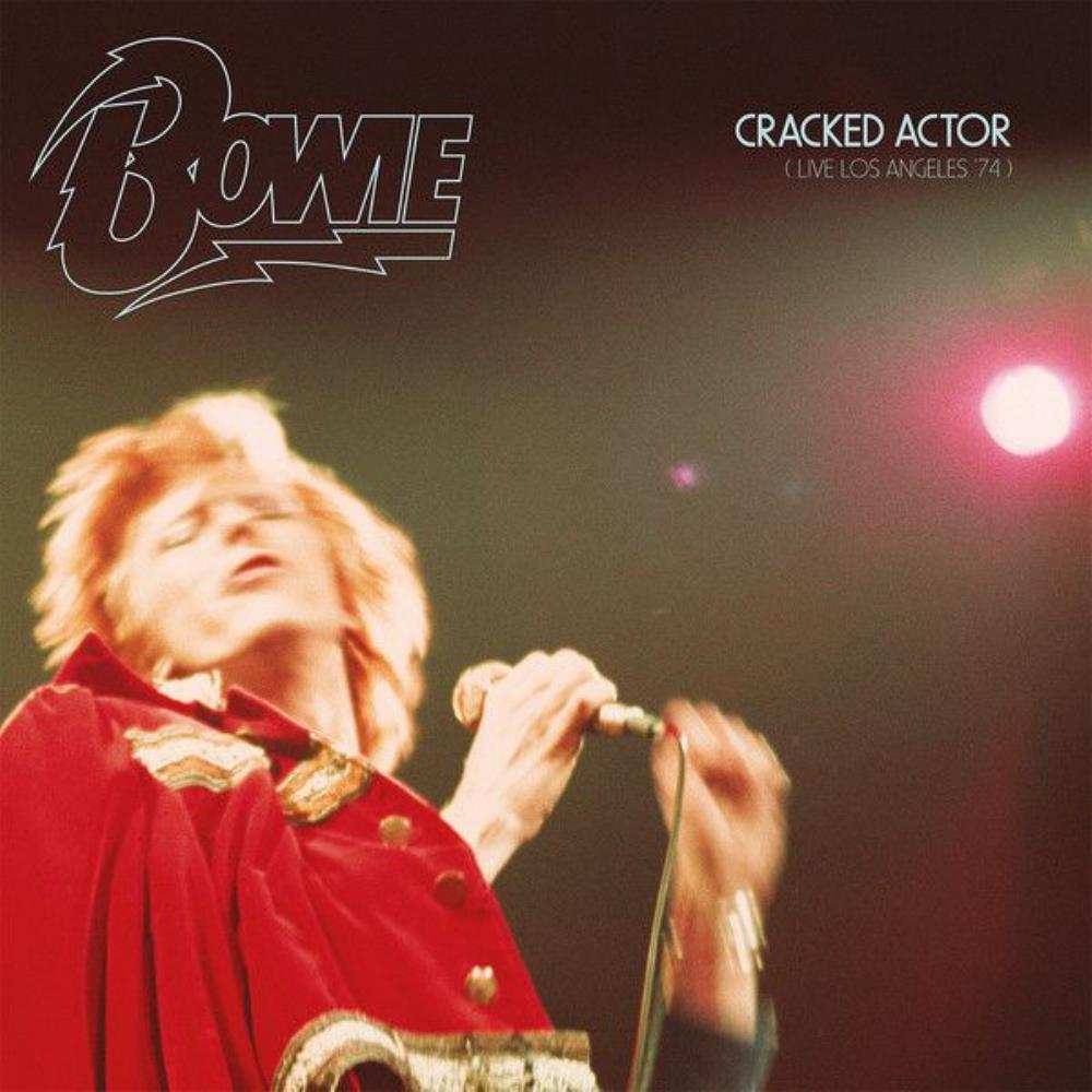 David Bowie - Cracked Actor (live Los Angeles '74) CD (album) cover