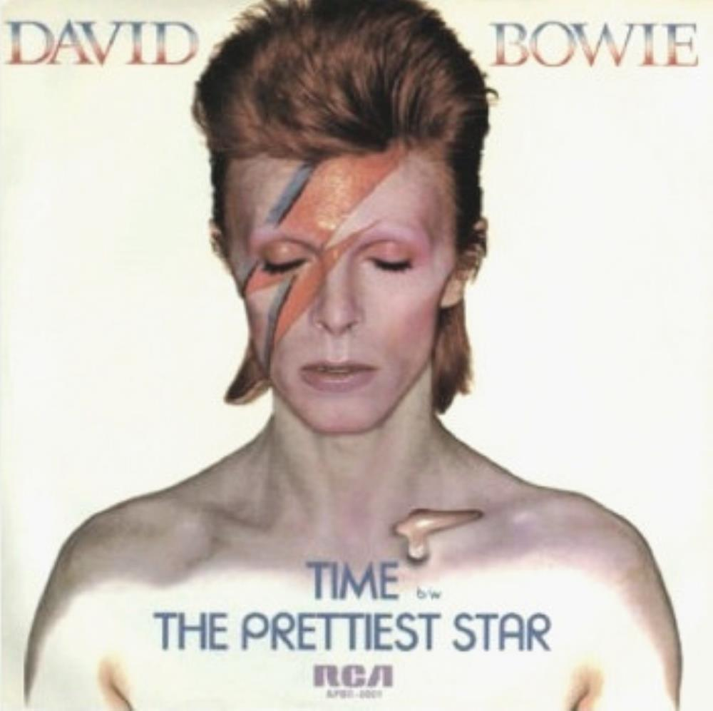 David Bowie - Time / The Prettiest Star CD (album) cover