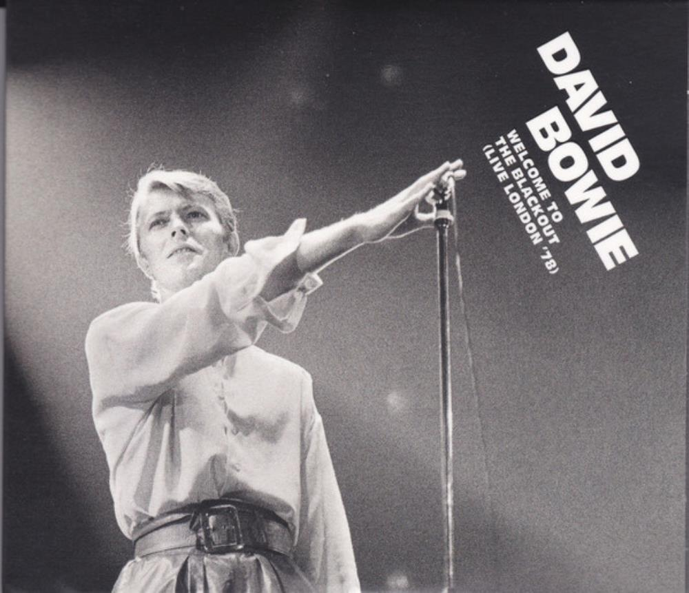 David Bowie - Welcome To The Blackout (live London '78) CD (album) cover