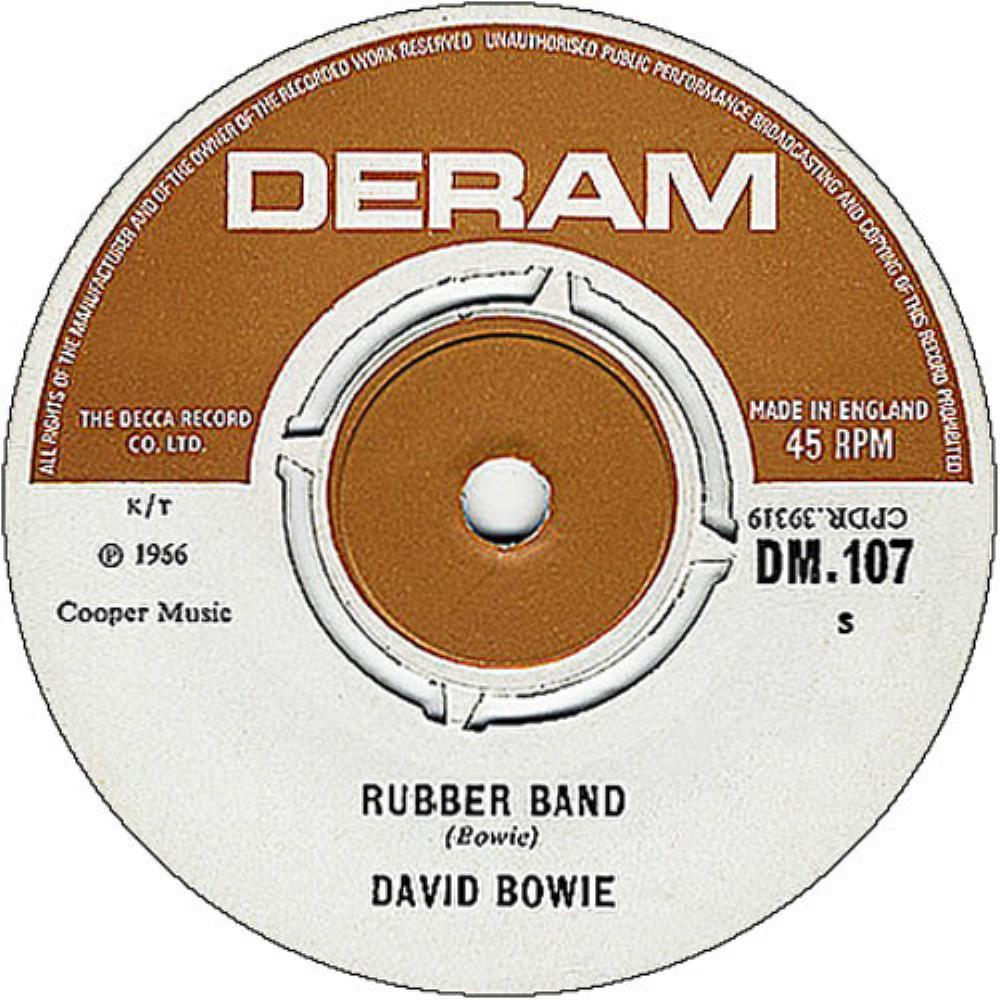 David Bowie - Rubber Band CD (album) cover