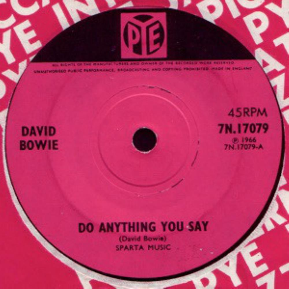 David Bowie - Do Anything You Say CD (album) cover