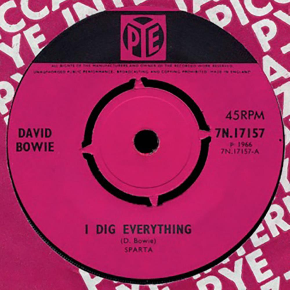 David Bowie - I Dig Everything CD (album) cover