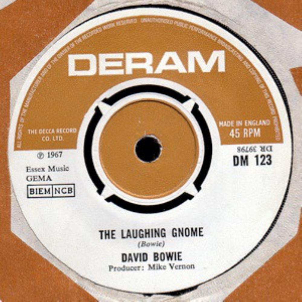 David Bowie - The Laughing Gnome CD (album) cover