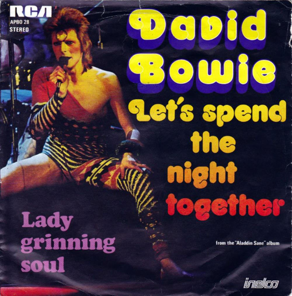 David Bowie - Let's Spend The Night Together CD (album) cover