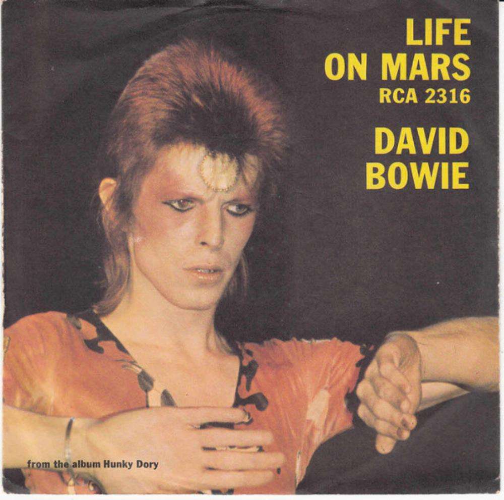 David Bowie - Life On Mars? CD (album) cover