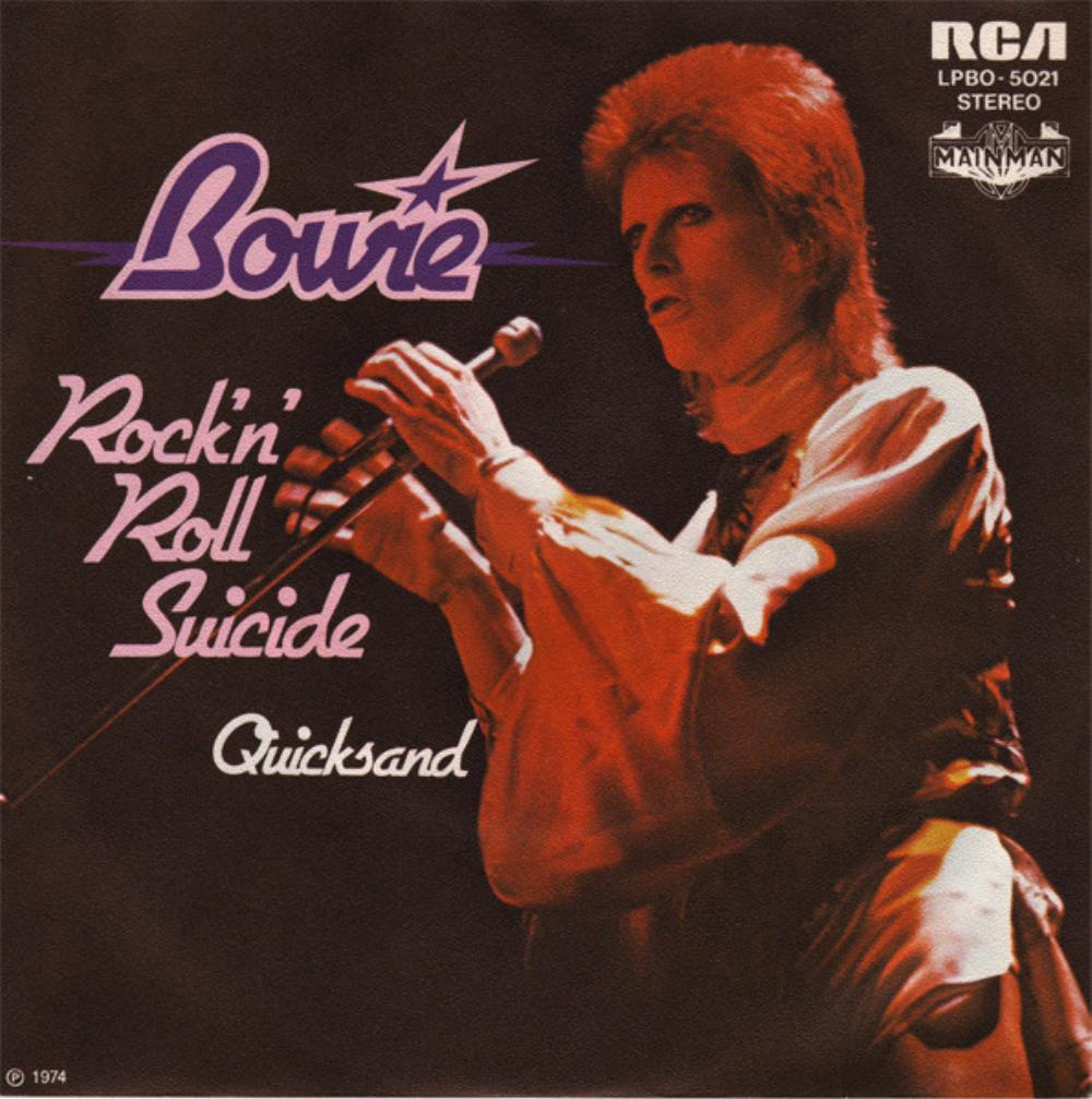 David Bowie - Rock 'n' Roll Suicide CD (album) cover