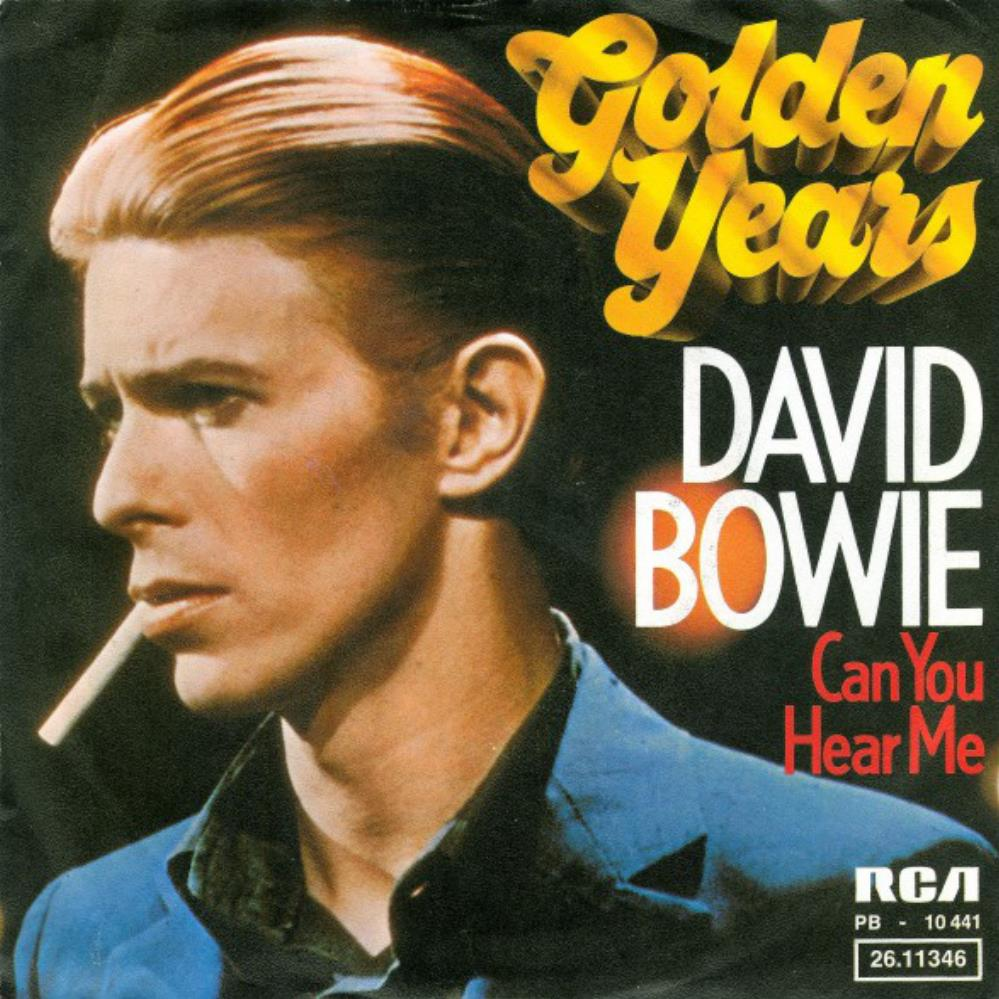 David Bowie - Golden Years / Can You Hear Me CD (album) cover