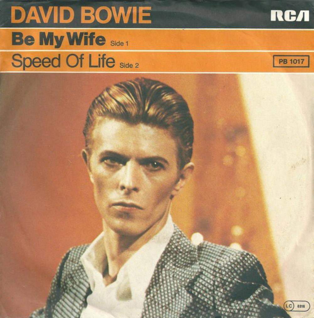 David Bowie - Be My Wife CD (album) cover